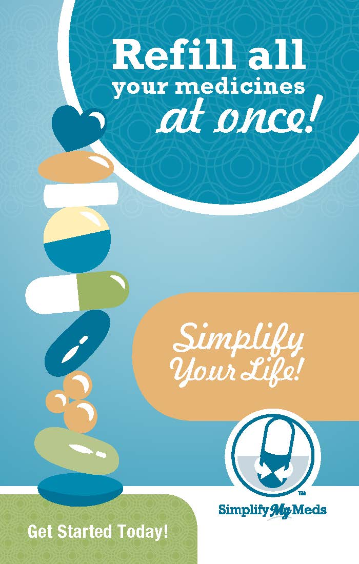 Simplify My Meds® Bag stuffers - 500 per package