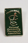 Green Enamel Student Pin - Foundation